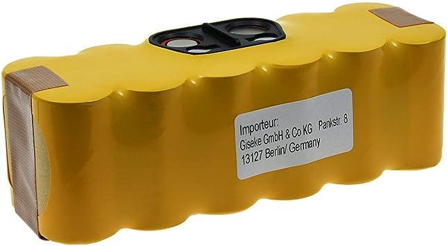 Powery Batería para Aspiradora iRobot Roomba 531: Amazon.es: Electrónica