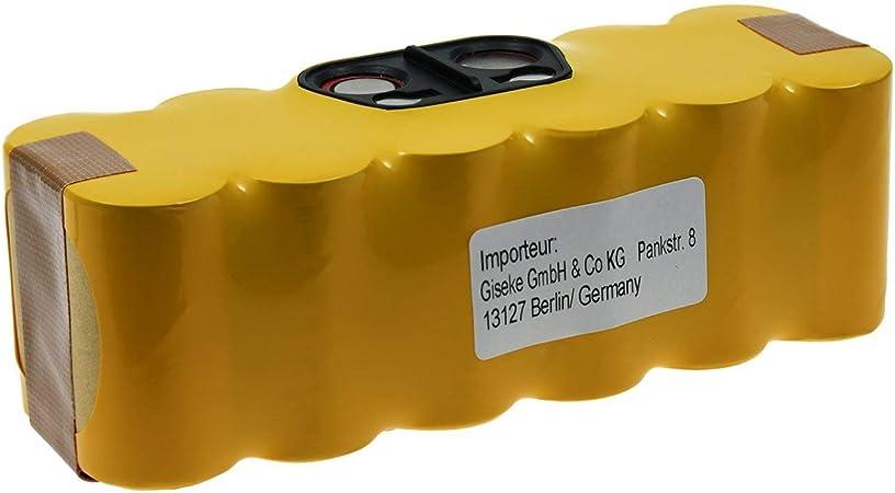 Powery Batería para Robot Aspirador iRobot Roomba 650: Amazon ...