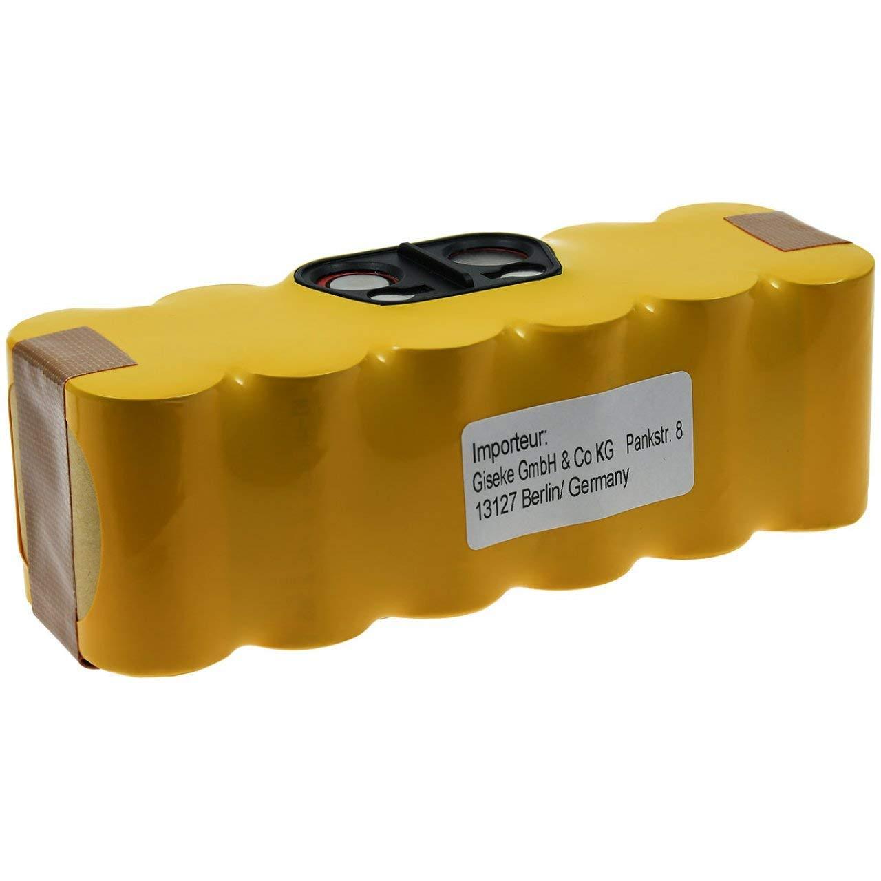 Acquisto Batteria per Aspirapolvere iRobot Roomba 500 Serie (520 – 530 – 550 – 555 – 560 – 562 – 564 – 580 – 581 – 770 – 780) || 3300mAh/47Wh || 14,4V || NiMH Prezzo offerta