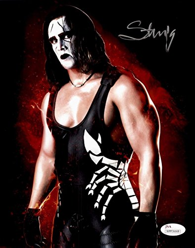 STING TNA WWE WCW Signed Autographed 8x10 Photo Authenticated 13 - JSA Certified - Autographed Wrestling Photos