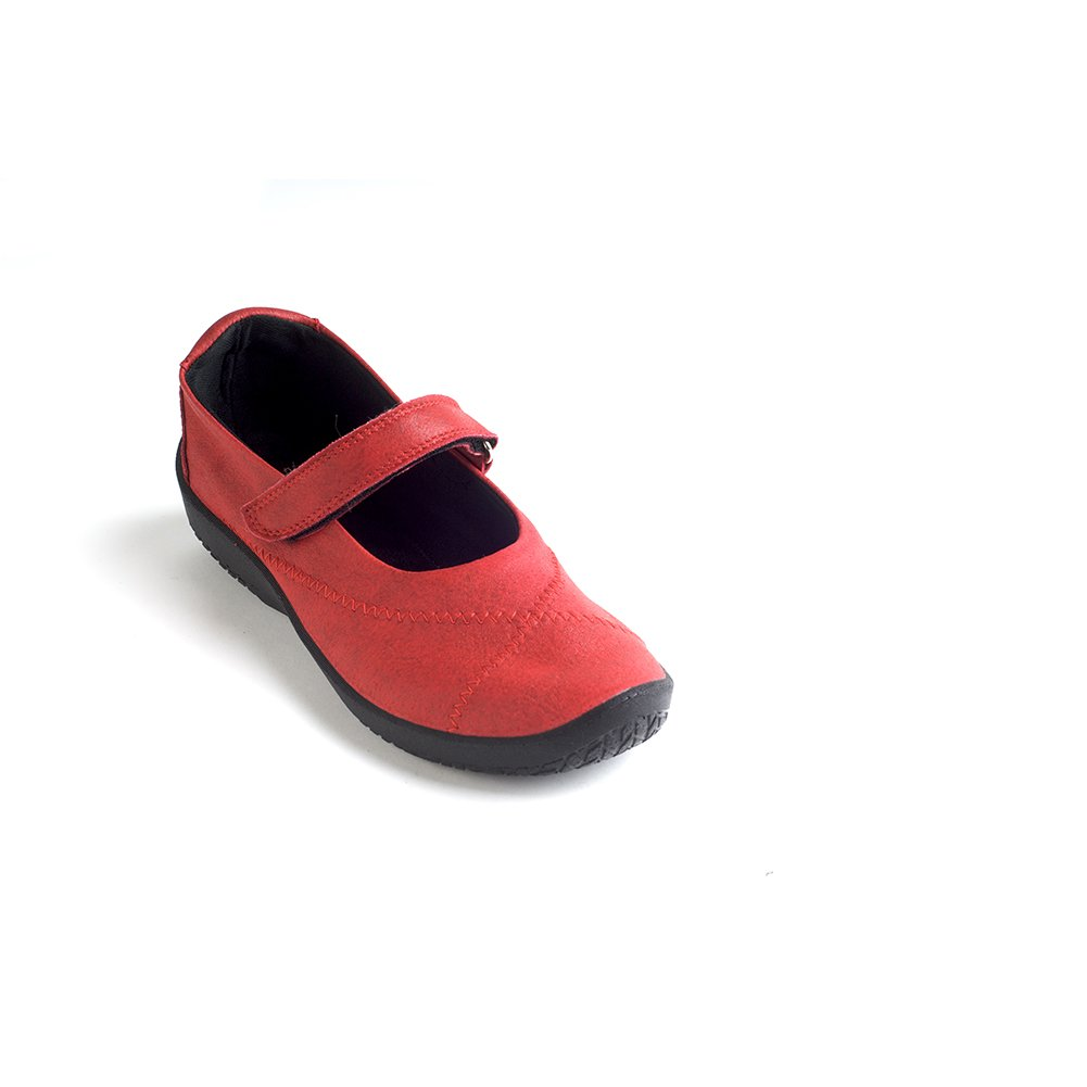 Arcopedico 4271 L18 Womens Mary Jane Flats B01LX38Q8A 40 M EU|Cherry Red