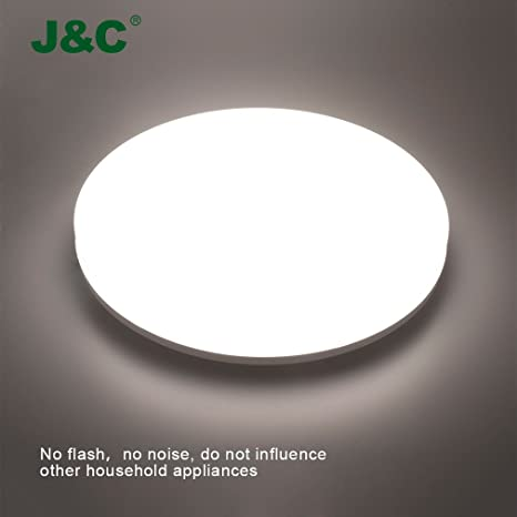 jnc plafoniera led bagno 18w luce di soffitto ip44 1550lm lampada bianco naturale 4000 4500k ac100 240v amazonit illuminazione