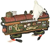 Department 56 Village Halloween Scary Ghost Hauler Lit House