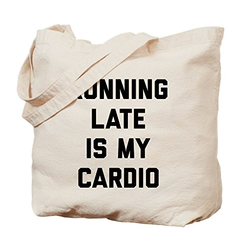Sac Is Late Cafepress Cardio My M Fourre Running toutToileKakiTaille odxrCBe
