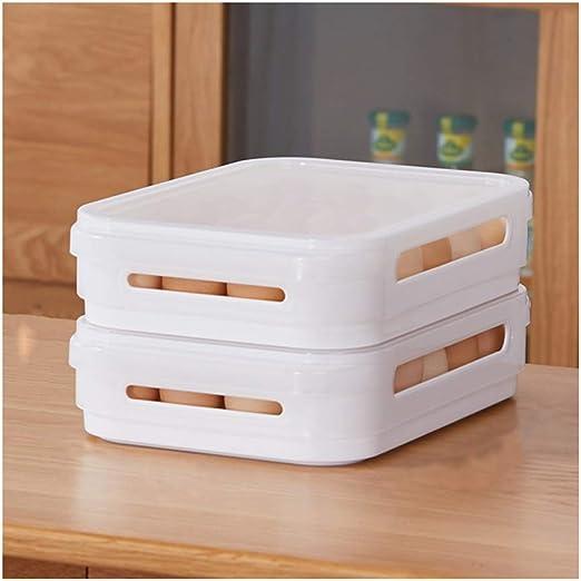 Almacenamiento de alimentos Caja de almacenamiento de huevos Caja ...