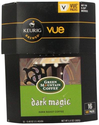 Vue Pack Dark Magic Coffee for Keurig Vue Brewers-16 Count 2 Pack