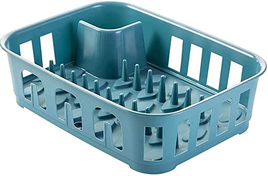 Plastic Double Layer Dish Drainer Drip Tray Kitchen Sink Drying Rack Holder ONE