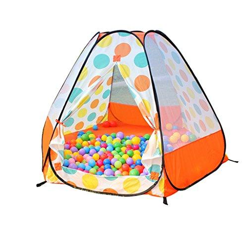 抗生物質恐怖吐き出すZYH 大型マリンボールプール、子供屋内テントベビーポータブル屋外ゲームハウスおもちゃストレージボールプール誕生日プレゼント180 * 110CM 広いスペース (色 : Orange)