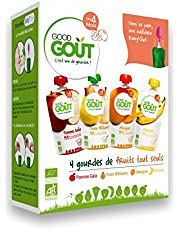 Good Gout: -30% sur le lot de 32 gourdes fruits + 8 Baby Clips