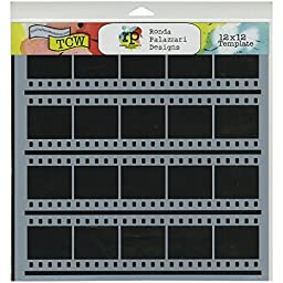 Crafters Workshop Contact Sheet Crafter\'s Workshop Template, 12-Inch by 12-Inch