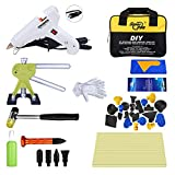 Super PDR 45pcs Bridge Dent Puller Kit Car Auto Body Paintless Dent Repair Remover Tool Kits Set
