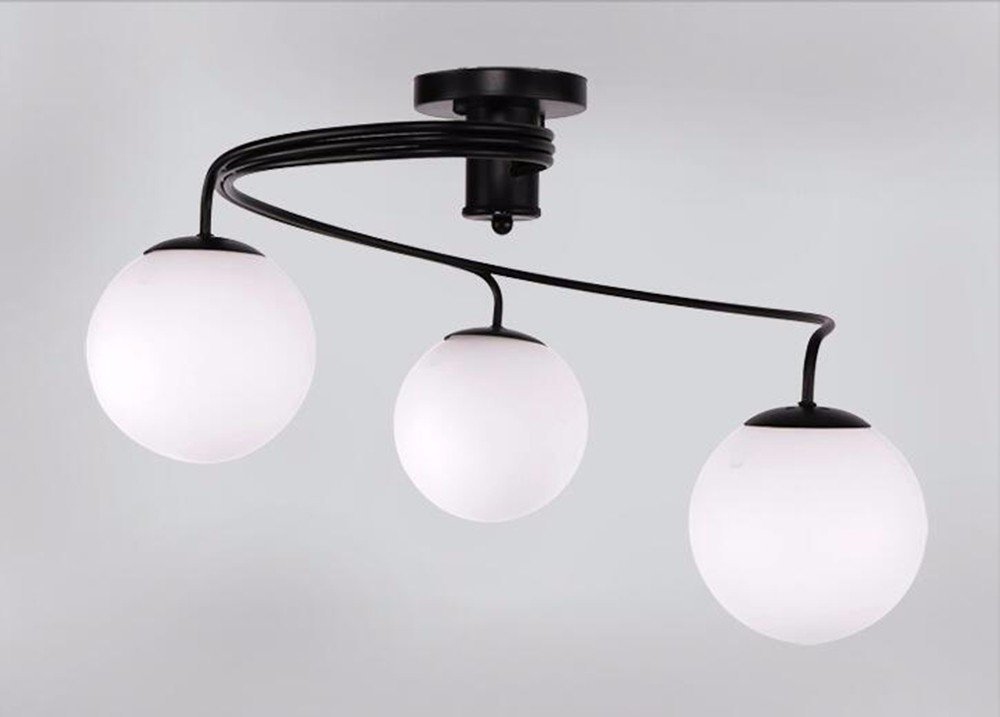 Moderne Lampen 94 : Gzlight moderne led deckenleuchte minimalistische bügeleisen