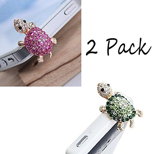 Dust Caps for Phone, Earphone Jack Accessories Dust Plug Lovely Decor for Iphone 6s 6 Ipad Samsung Galaxy s7 s6 note5 LG Other Cellphone 3.5mm Ear Jack (2 Pack)