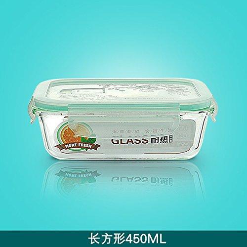 Cuadro fresca copa fiambrera microondas tazón de vidrio especial ...