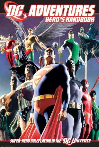 - DC Adventures RPG Heros Handbook: Super-Hero Roleplaying in the DC Universe