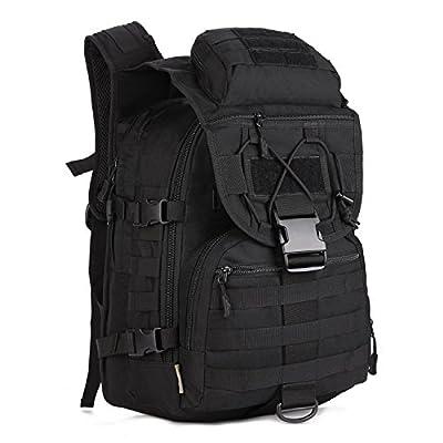ArcEnCiel® 40L Camping Bags Waterproof Molle Backpack Military 3P Tad Tactical Backpack Assault Travel Bag for Men Cordura