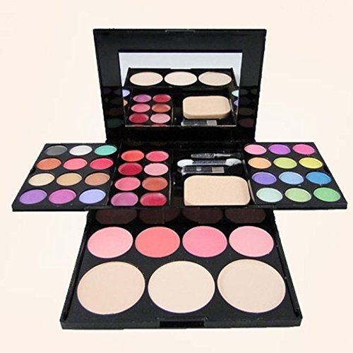 Makeup Set 39 Color Eyeshadow Set Eyeshadow Palette 24 + 8 + 4 + 3 lip gloss, blush, foundation, face powder, make-up ()