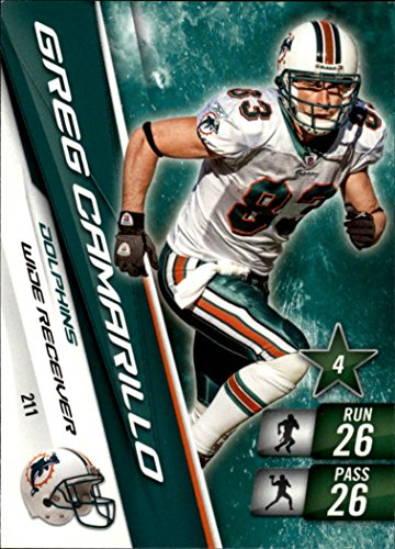 2010 Adrenalyn XL #211 Greg Camarillo (Football - Stores Camarillo