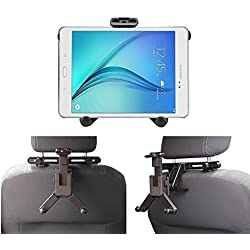 """Navitech In-Car Back Seat Headrest Mount For The All-New Fire HD 8 Tablet with Alexa, 8"""" HD Display, 32 GB, Black, Punch Red, Marine Blue, Canary Yellow"""