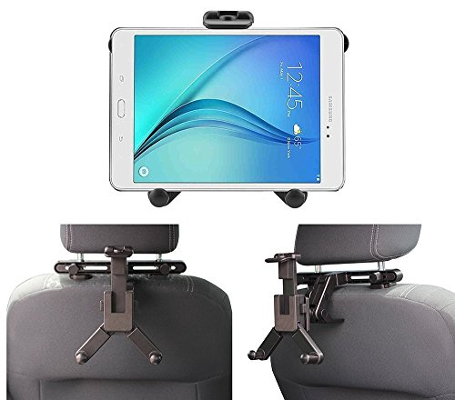 "Price comparison product image Navitech In-Car Back Seat Headrest Mount For The All-New Fire HD 8 Tablet with Alexa, 8"" HD Display, 32 GB, Black, Punch Red, Marine Blue, Canary Yellow"