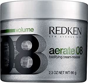 Redken Aerate 08 Bodifying Cream Mousse, 2.3 Ounce