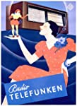 Radio Telefunken Vintage Poster artist: Boht Germany 24x36 Collectible Giclee Gallery Print Wall Decor Travel Poster