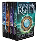 img - for Herbie Brennan Collection 4 Books Set RRP  27.96 (The Faerie Wars Chronicles) (The Faerie Wars Chronicles Collection) (Ruler of the Realm,The Purple Emperor, Faerie Wars, Faerie Lord) book / textbook / text book
