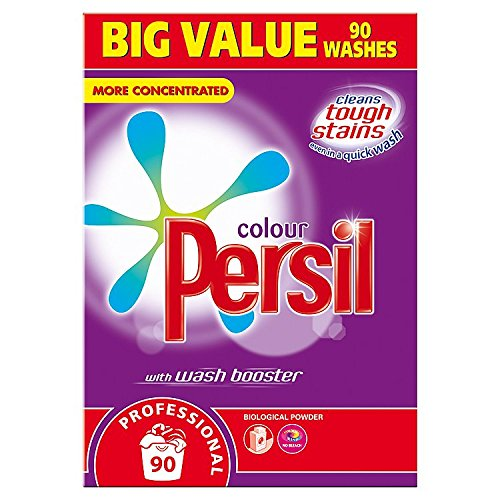 Persil Professional Colour with Wash Booster Biological Powder 90 Washes by Persil
