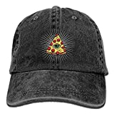 Paul Garza Cool Baseball Cap Pizza All Seeing Eye Food Pyramide Summer Hiking,Cycling Hats