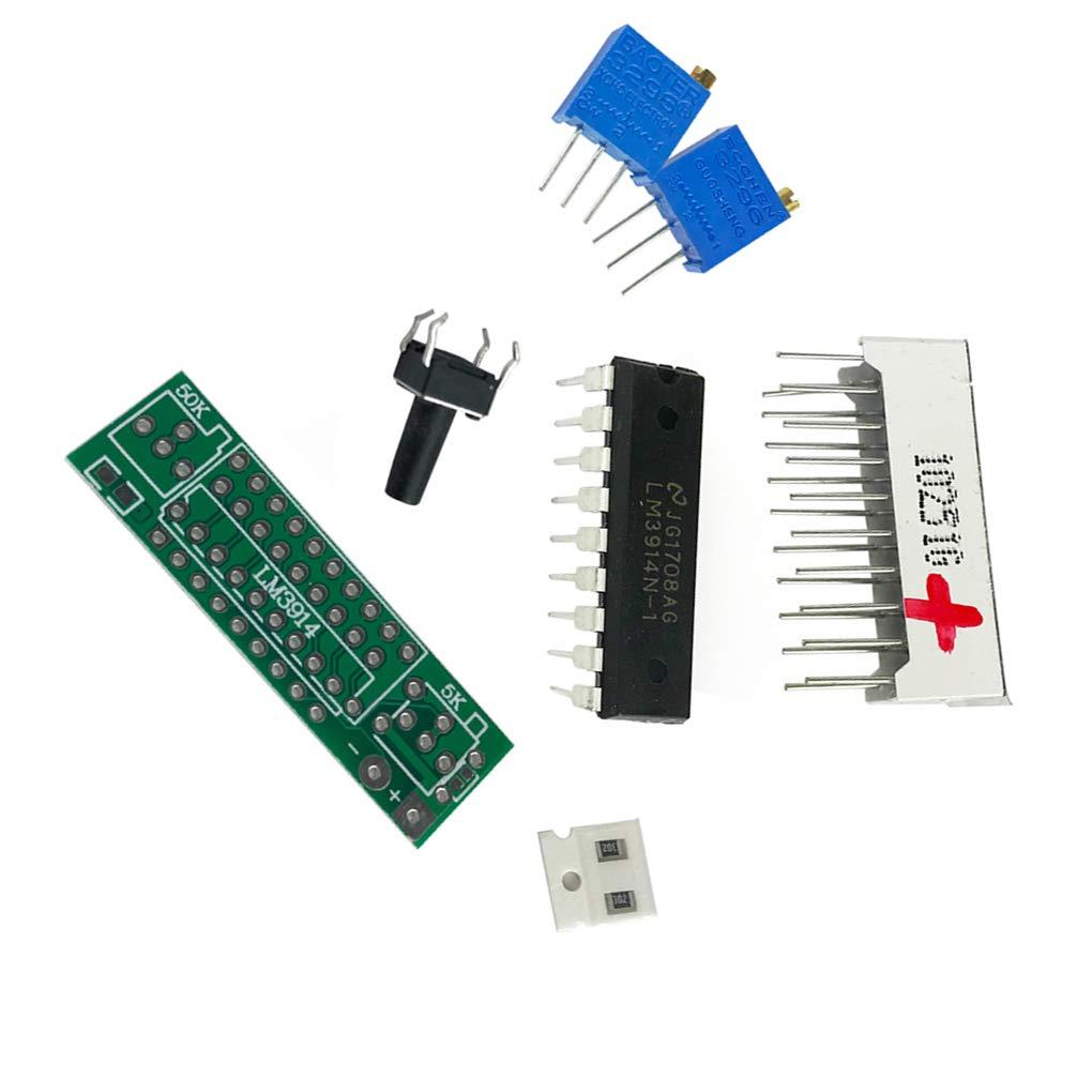 Aiming Vert Clair Indicateur Durable dalimentation 3.7V Lithium LED Module ION Capacit/é de la Batterie au Lithium-ION testeur Lipo