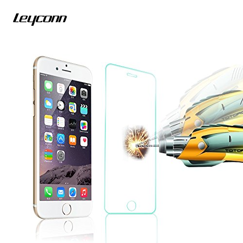 iPhone 6S Screen Protector,Leyconn Full Cover 9H 0.2mm Ultrathin Premium Tempered Glass Screen Protector for iPhone 6 - Usa Complaints Glasses