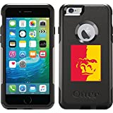 Pittsburg State Gorilla design on Black OtterBox Commuter Series Case for iPhone 6 Plus and iPhone 6s Plus