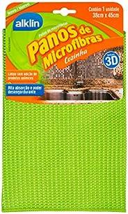 Pano Microfibra Cozinha Verde