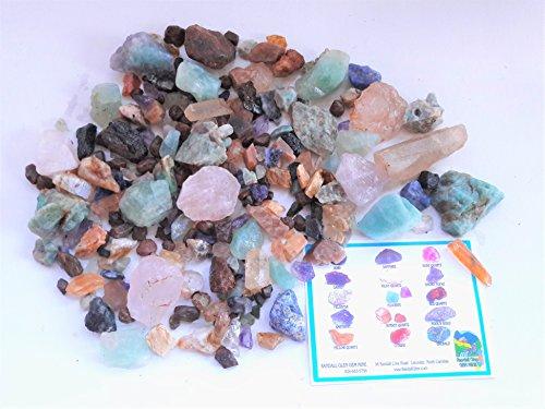 (RUBY & SAPPHIRE TREASURE BOX Home Gem Mining Kit 9000+ Carats of Gems)