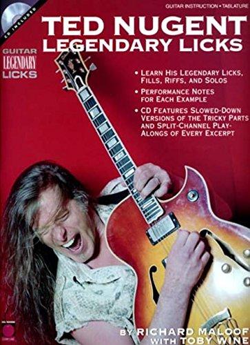 TED NUGENT BK/CD (Guitar Legendary Licks)