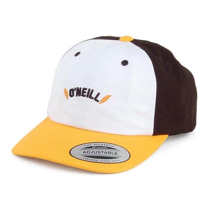 ONeill Gorra de béisbol Infantil Dad Fit Blanco-Amarillo - Talla Infantil Ajustable: Amazon.es: Ropa y accesorios
