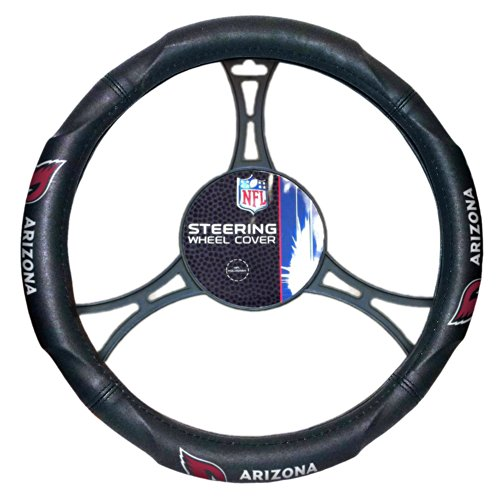Officially Licensed NFL Arizona Cardinals Steering Wheel (Cardinals Nfl)