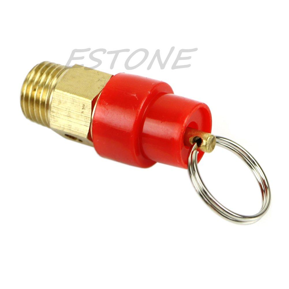 manyo Válvula de purga para compresor de aire - Impresión limitadora regulador, un 1/46kg BSP rosca, longitud: 43 mm, latón, 1 pieza.