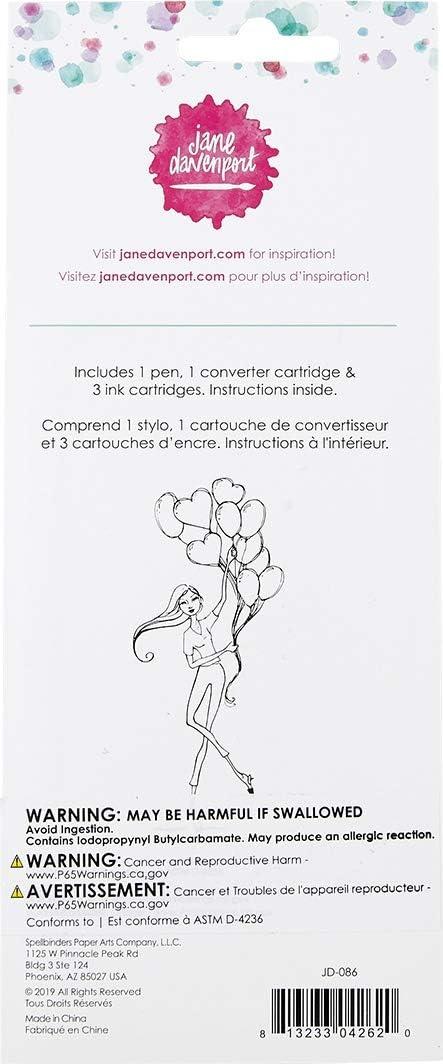 Jane Davenport INKredible Fountain Pen Turquoise Teal 320743
