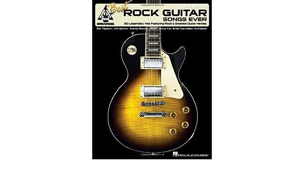 Best Rock Guitar Songs Ever: Amazon.es: Hal Leonard Corp: Libros ...