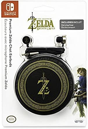 PDP - Premium Zelda Chat Earbuds (Nintendo Switch): Amazon.es ...