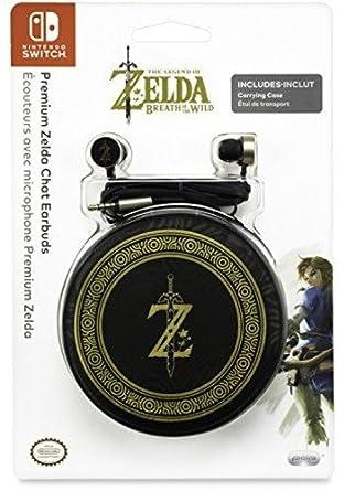 PDP - Premium Zelda Chat Earbuds (Nintendo Switch): Amazon ...