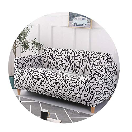 ZFADDS New Stretch Sofa Cover Slipcovers Elastic Couch Case for Different Shape Sofa Loveseat Chair L-Style 1Pc,Color 3,1Seater and 1Seater ()