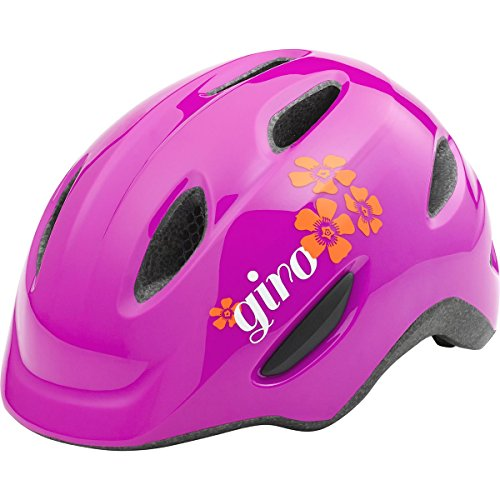 Giro Scamp Helmet – Kid's Magenta/Flowers X-Small Review