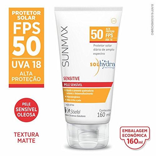 Protetor Sensitive Family Sunmax Branco