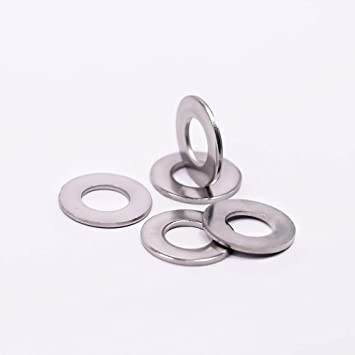 18-8 3//8 X 3//4 Flat Washers Standard AISI 304 Stainless Steel 1000 pcs