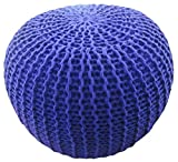 Better Trends / Pan Overseas Morro Pouf, 15 x 18, Purple