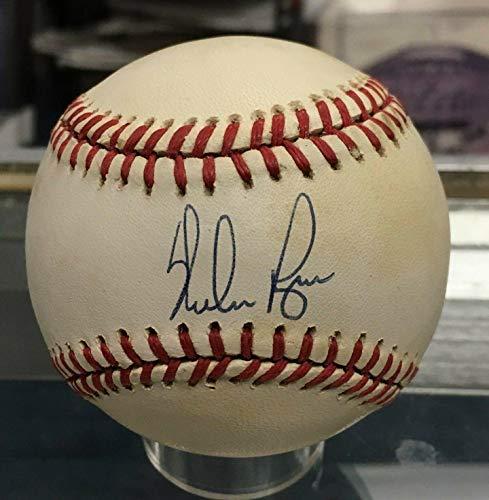Nolan Ryan Ball (Nolan Ryan Signed Ball - Official Al American League Certificate - JSA Certified - Autographed Baseballs)