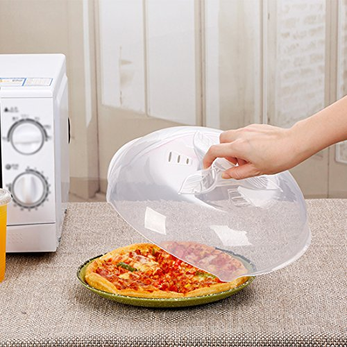 Microwave plate cover, prevent food splatter cover,new product -No Magnetic adsorption function.safe convenient with steam vent by ZFITEI
