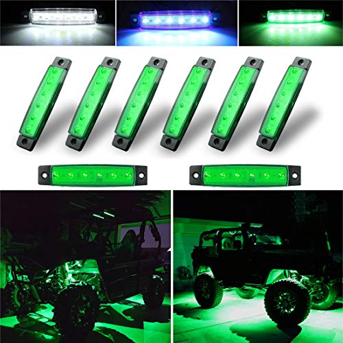 Green Led Offroad Lights in US - 9